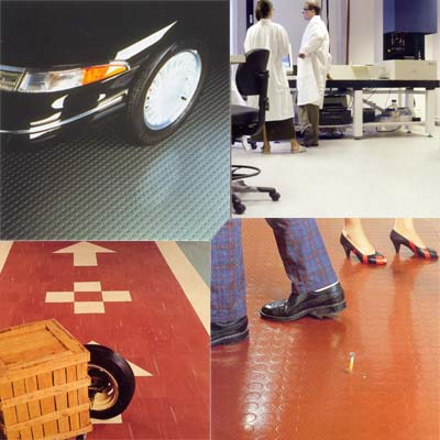 Flooring For Industrial & Clean Rooms