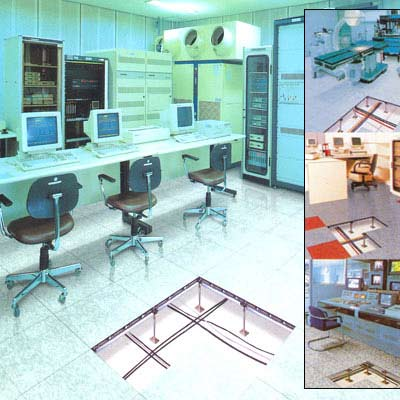False Flooring For Hi-Tech Environments
