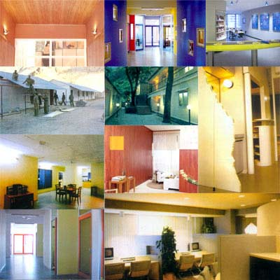 Wall Paneling, Wall Partitions, Claddings & Doors