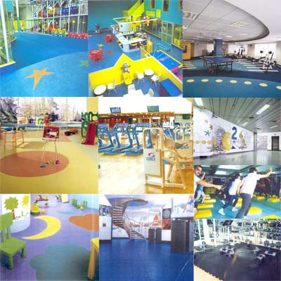 Flooring For Gyms, Auditoriums & Play Areas